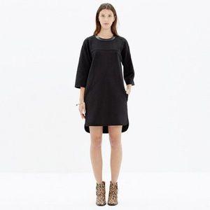 Madewell pique pointe dress sz L NWT
